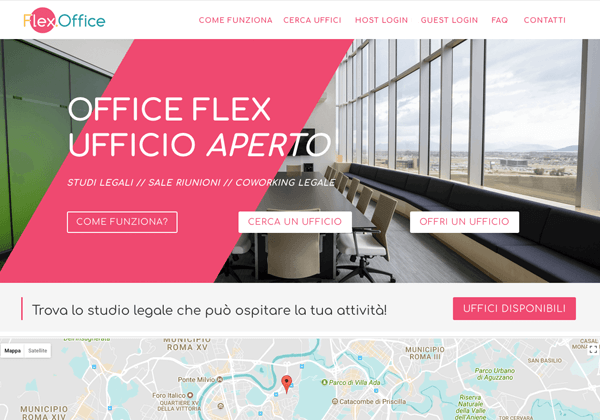 FlexOffice website
